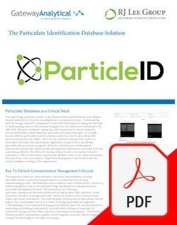 The Particulate Identification Database Solution - Gateway Analytical